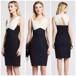 Banana Republic Sloan Colorblock Dress